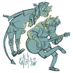 W2H - Guitar (acronym logo)
