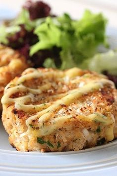 Crabcakes with Lemon-Dill Mayonnaise