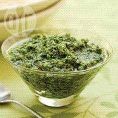Foto da receita: Pesto de agrião