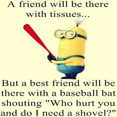 86 Funny Quotes Minions And Minions Quotes Images 8 Source by sherrieainley The post 86 Funny Quotes Minions And Minions Quotes Images Friendship Quotes appeared first on Quotes Pin. Besties Quotes, Funny Girl Quotes, Funny Quotes About Life, Cute Quotes, Funny Life, Bffs, Humor Quotes, Funny Bestfriend Quotes, Best Friend Quotes Funny Hilarious
