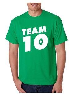 Men's T Shirt Team 10 Cool Trendy Tshirt