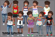 Sims 4 CC's - The Best: Toddler Collection by Hoppel785