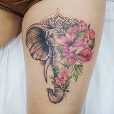 Tatuajes de elefantes Tattoos And Body Art eagle tattoo Elephant Head Tattoo, Mandala Elephant Tattoo, Elephant Tattoo Design, Tattoo On, Cover Tattoo, Back Tattoo, Tattoo Quotes, Neue Tattoos, Body Art Tattoos