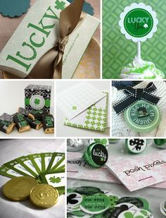 Cute St. Patrick's Day Printables  - some are free & some cost a little....