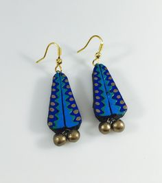 casual terracotta earrings