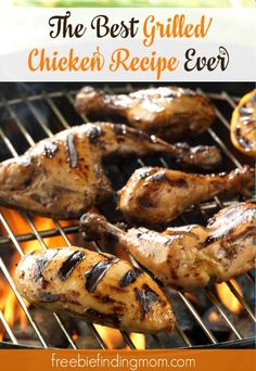The Best Grilled Chicken Recipe Ever - This healthy and flavorful recipe is a must for your summer cookout.