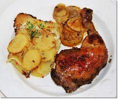 Gizi-receptjei: Hétvégi receptajánló!!! Köménymagos-fokhagymás sült csirkecomb. Tandoori Chicken, Food Pictures, Pork, Ethnic Recipes, Mad, Google, Blog, Kale Stir Fry, Blogging