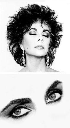 1987, Elizabeth Taylor, Vogue by Wayne Maser. S)
