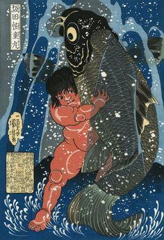 woodblock prints | Kuniyoshi woodblock print