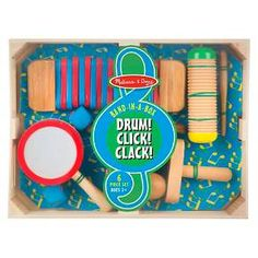 Melissa & Doug® Band-in-a-Box Drum! Click! Clack! : Target