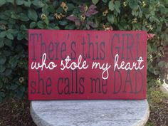 There's this girl she calls me dad who stole by ScrapCrazyDesigns, $18.00