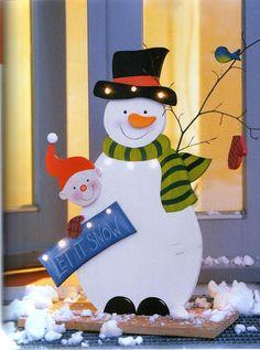 Christophorus - Laubsage für Winter und Weihnachten / Holzdeko - Muscaria Amanita - Picasa Webalbumok