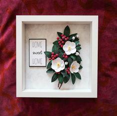 Frames - Hand Craft - tablouri hand made Handmade Flowers, Diy Flowers, Paper Flowers, Quilling Flowers, Paper Quilling, New Crafts, Paper Crafts, Money Frame, Little Buds