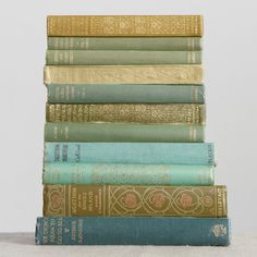 Vintage Books. I love to use these around the house to display with other items.