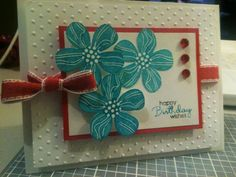 Eastern Blooms birthday by iluvapples - Cards and Paper Crafts at Splitcoaststampers