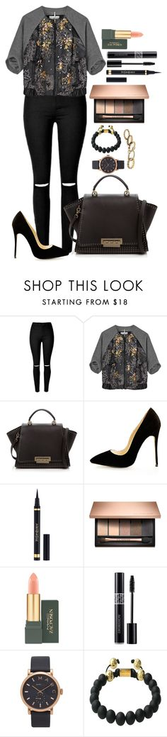 """""""Untitled #1463"""" by fabianarveloc on Polyvore featuring DAY Birger et Mikkelsen, ZAC Zac Posen, Yves Saint Laurent, MAC Cosmetics, Christian Dior, Marc Jacobs and Nialaya"""