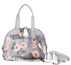 3f9ff46e12 Vooray Zen Bag-Rose Gray Print from Aries Apparel Athletic Trends