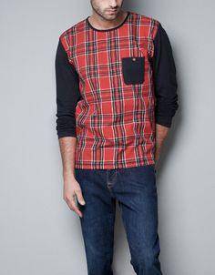 La camiseta son de la tienda Zara. La camiseta cuesta 399.00 en pesos, y 31.28 en dólares. Me gusta la camiseta por que es rojo y negro.