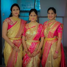Bridal Silk Saree, Saree Wedding, Silk Sarees, Wedding Saree Collection, Bridal Collection, Blouse Styles, Blouse Designs, Kids Dress Patterns, Hand Designs