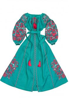 """Dress with wedges """"Divo-Tree"""""""