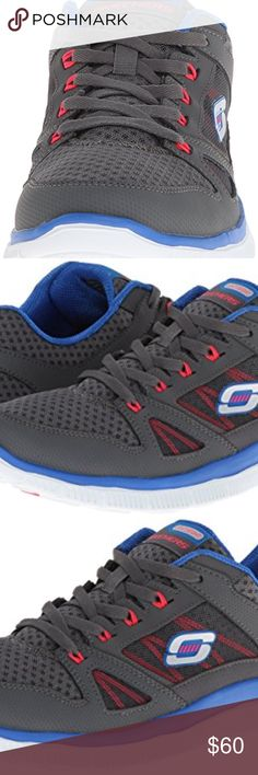 Skechers Sport Women's Flex Appeal Sneaker Skechers Sport Women's Flex Appeal Adaptable Fashion Sneaker Skechers Adaptable 12055 Women's Casuals ensure you don't sacrifice style for your workout sessions. Featuring a nubuck leather construction on top, these athletic shoes comprise of meshed panels with fabric interplay to ensure breathability. The inclusion of a soft fabric lining, memory foam insole, padded collar, padded tongue, shock absorbent mid sole, and an extremely flexible rubber…