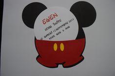 suite carte anniversaire mickey