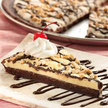 Smuckers Brownie Pizza