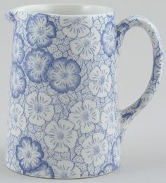 Burleigh Gentian Jug or Pitcher Tankard small