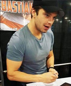 Eyes, face, chest, arms... I want them all.