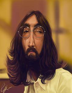 John Lennon Sk by rico3244