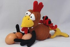How-To Crochet Some Pretty Amazing Chickens - Crochet Rising | Crochet Rising