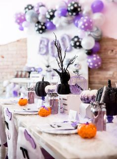 Boo tiful Ball Halloween Ghouls Night Out Party via Kara's Party Ideas | KarasPartyIdeas.com (21)
