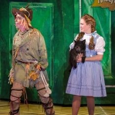 Danielle Bowen stars as Dorothy in the St. Wizard Of Oz Musical, Yellow Brick Road, The St, St Louis, Musicals, It Cast, Watch, Fictional Characters, Clock