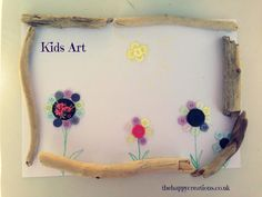 Kids Art A fun easy way to create art with your child.
