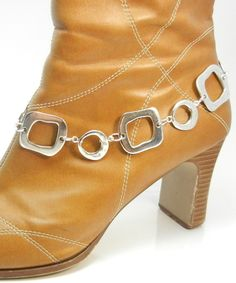 Silver Boot Bling - Jewelry Accent to your Boots - Boot Jewelry