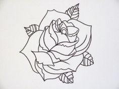 rose-outline-flickr-sharing-103370-500x375.jpg 500×375 pixels