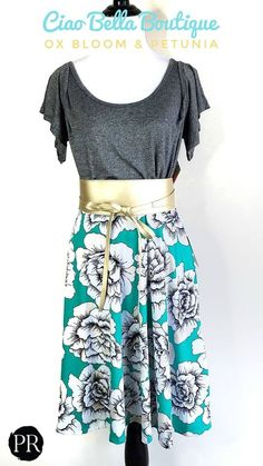 This bloom skirt is