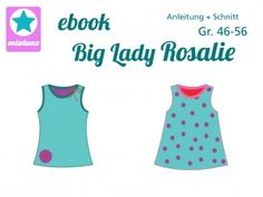 mialuna - Ebook Damen Sommer Top Big Lady Rosalie Gr. 46-56