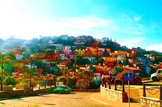 Guanajuato! Was there to celebrate Mexico Independence Day! What a sight!