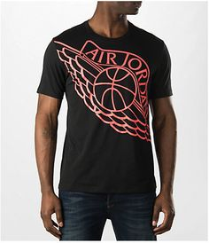 Men's Air Jordan Wingspan T-Shirt Jordan 2016, Finish Line, Jordan Retro, Air Jordans, Mens Tops, T Shirt, Shopping, Style, Fashion