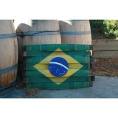 Brazil Flag Sign