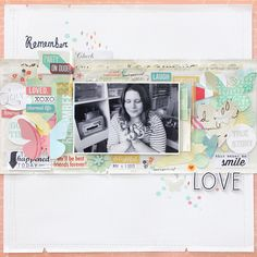 Crafting ideas from Sizzix UK: Scrapbooking page with Sizzix BS Starter Kit by Janna Werner.