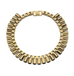 Mawi Sun Ray Tube Necklace in Gold