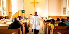 Im Durchschnitt gingen 2014 3,5 Prozent der 22,63 Millionen Mitglieder zur Kirche. Foto: picture-alliance/dpa