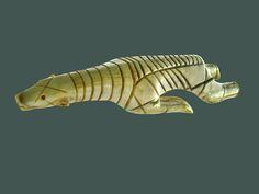 Ours nageant (Musée du quai Branly) (3034045389) - Dorset culture