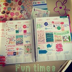 """""""Always a fun time playing in my #eclifeplanner ✨ @erincondren The first three days of the week are crazy busyonly 6 more Thursdays until maternity…"""""""