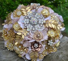 Brooch Bouquet - Etsy