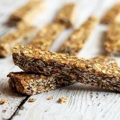 Healthy No-Bake Peanut Butter Granola Bars
