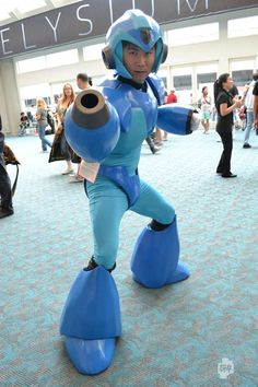 Megaman, Comic-Con 2012 Video Game Cosplay Pictures Photo Gallery - G4tv.com