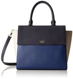 kate spade new york Cameron Street Blakely Satchel Bag Ocean BlueOff ShoreCrisp Linen One Size >>> Check out the image by visiting the link.Note:It is affiliate link to Amazon.